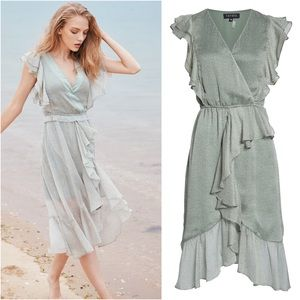 1. State Mosaic Ditsy High/Low Dress